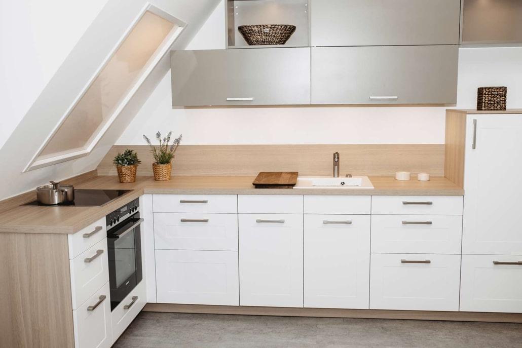 Küche-im-Dachgeschoss
