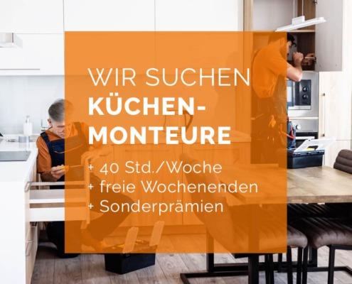 Stellenanzeige Küchenmonteur in Gsütrow